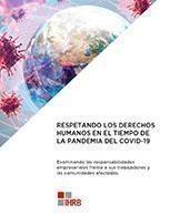 Respetando los Derechos Humanos en el tiempo de la Pandemia del COVID-19