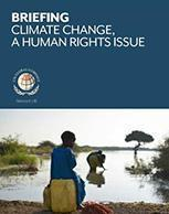 Climate change, a human rights issue
