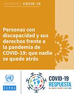 Personas con discapacidad y sus derechos frente a la pandemia de COVID-19: que nadie se quede atrás