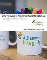 Matriz Programas de Ética Empresarial – Derecho Comparado