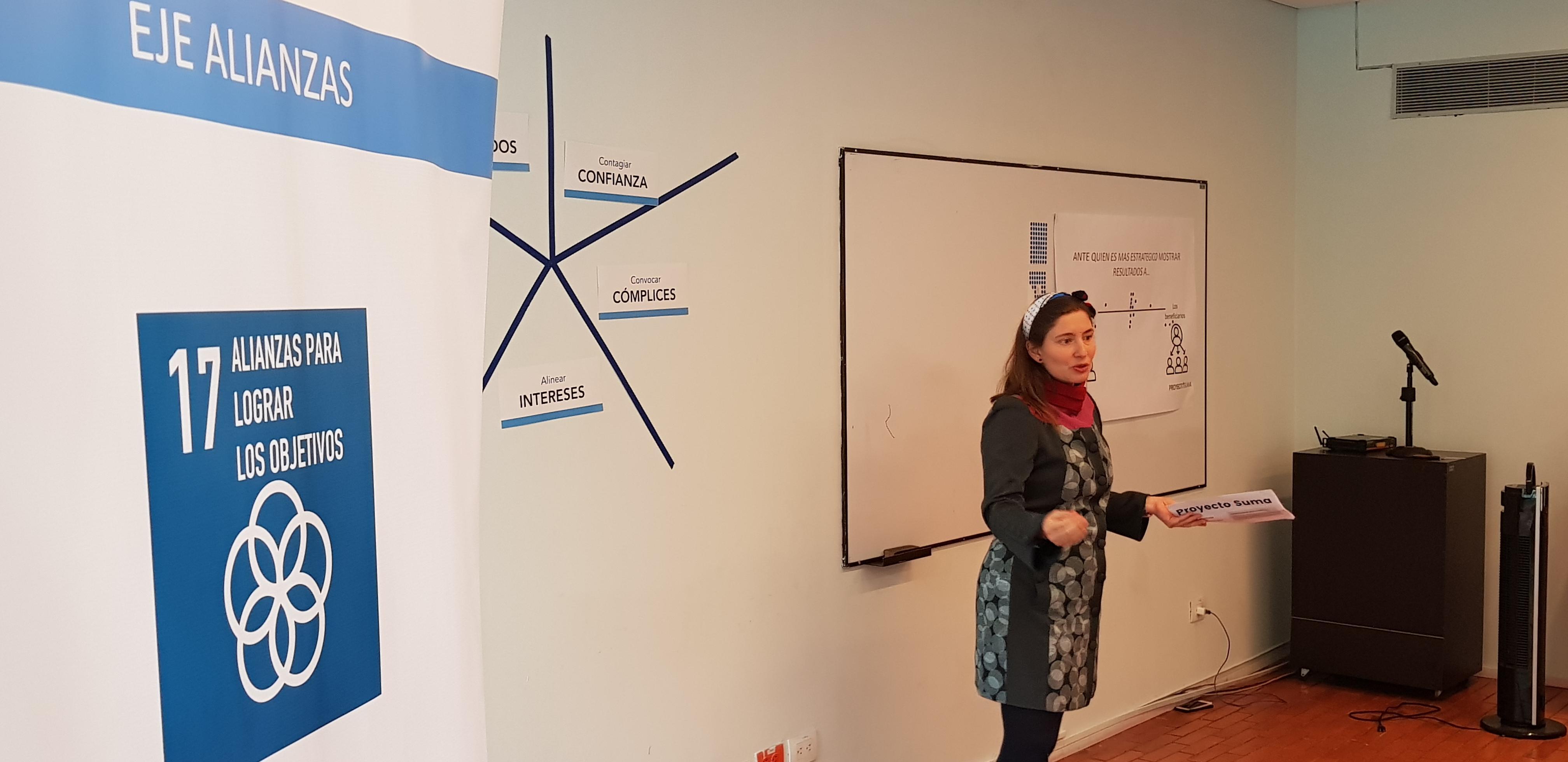 Trabajamos junto a Proyecto SUMA y la Universidad EAN para alcanzar el ODS 17 y promover la generación de alianzas efectivas