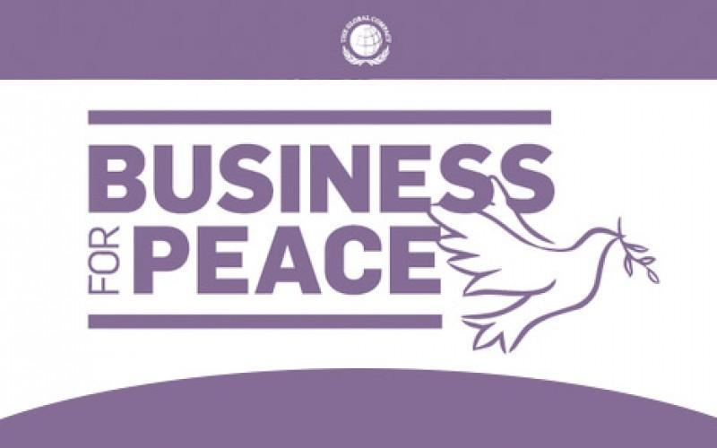 Logo Business for Peace