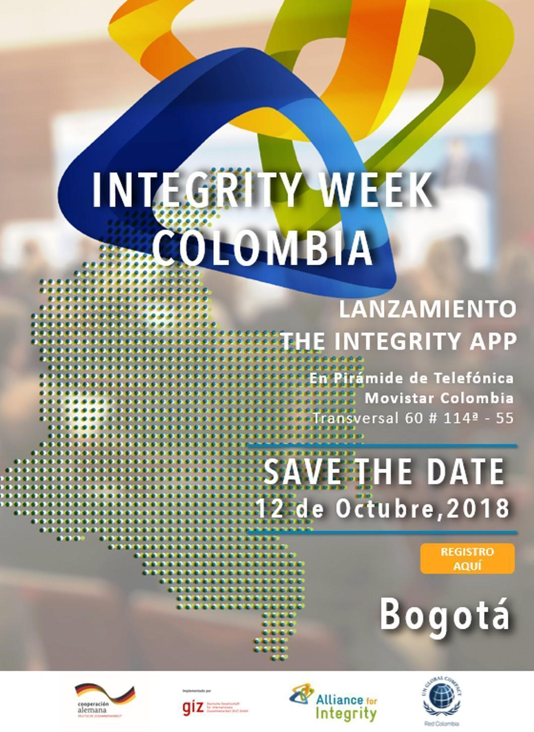 Lanzamiento de The Integrity App Colombia
