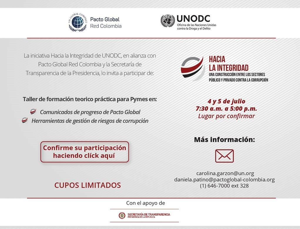 Taller Pymes UNODC 1