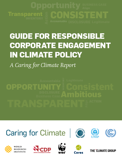 Guide for responsible corporate engagement