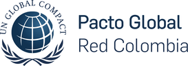 Logo Pacto Global Red Colombia