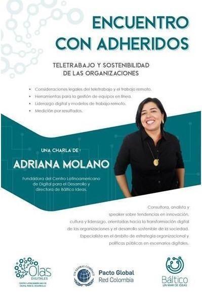 Webinar - Teletrabajo y sostenibilidad de las organizaciones