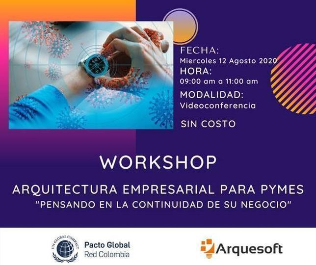 WorkShopArqEmpresarialPymesContinuidadNegocios